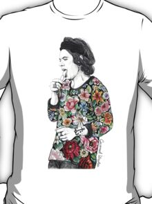 Floral Harry T-Shirt