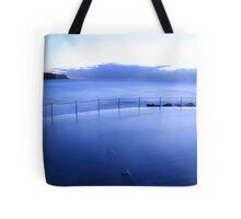 Ocean Pool Blues Tote Bag