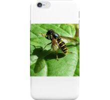 Syrphid Fly iPhone Case/Skin