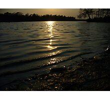 Silky Lake Photographic Print