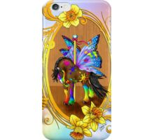 Fairytale Carousel Daffodil the Painted Gypsy iPhone Case/Skin