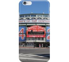 Chicago Wrigley Field iPhone Case/Skin