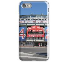 Chicago Wrigley Field iPhone Case/Skin