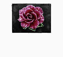 Ceramic Rose Flower Unisex T-Shirt