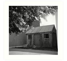 Miner's cottage Art Print