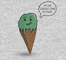 The Coolest Ice Cream Cone In Town by NMGraphics