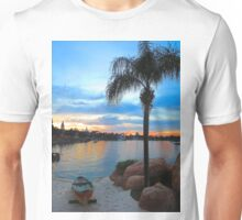 Sunset on the Lagoon at Epcot Unisex T-Shirt