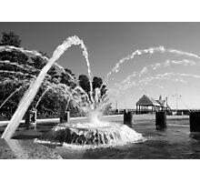 Waterfront Fountain #1, Charleston, SC Photographic Print