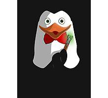 Doctor Penguin Photographic Print