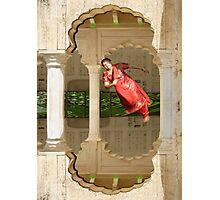 Zero Gravity Desi Dancing Photographic Print