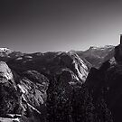 Half-Dome on Silver by MJSinclair