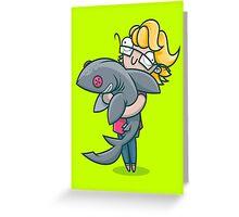 Creative Shark Greeting Card