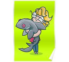 Creative Shark Poster
