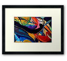 Kaleidoscope of Color Framed Print