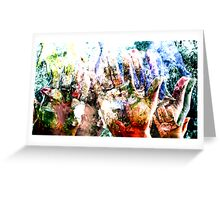 Fingure Scape Greeting Card