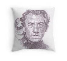 Sir Ian McKellen Throw Pillow