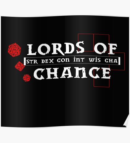 Lords of Chance Poster