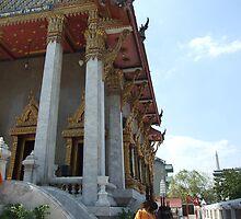 Buddha pathways original by Allen Davies