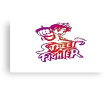 Sakura Street Fighter Canvas Print
