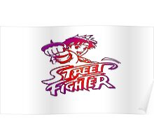 Sakura Street Fighter Poster