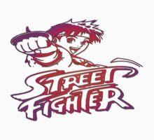 Sakura Street Fighter One Piece - Long Sleeve