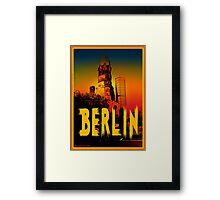 Gedächtniskirche in Berlin Germany Framed Print
