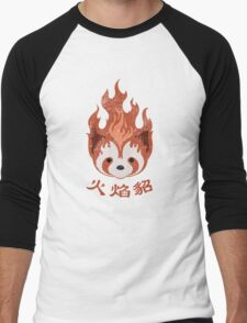 Legend of Korra: Fire Ferrets Pro Bending Emblem Men's Baseball ¾ T-Shirt