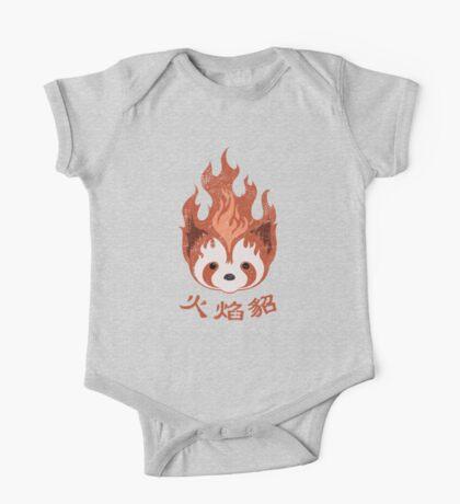 Legend of Korra: Fire Ferrets Pro Bending Emblem One Piece - Short Sleeve