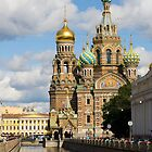 Church on spilled blood by mossko