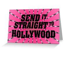 Hollywood Aura Greeting Card