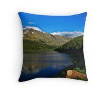 Clinton Gulch Reservoir, Colorado Throw Pillow