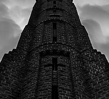 Durie Hill Tower - Wanganui, NZ by Angela McConnell
