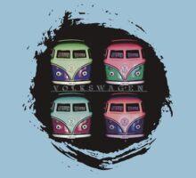 Pop Kombi Splat VW T-shirt
