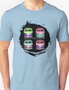 Pop Kombi Splat VW T-shirt T-Shirt