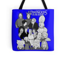 the Princess Bride character collage Tote Bag