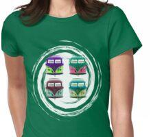 Pop Kombi VW Swirl T-shirt Womens Fitted T-Shirt