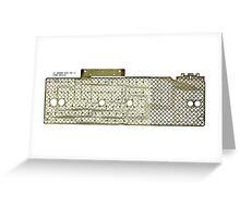 kbmb (keyboard membrain) Greeting Card