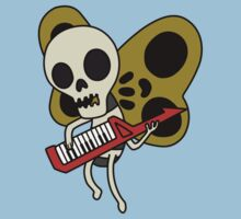 Jamin' Skull Butterflies Kids Clothes