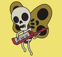 Jamin' Skull Butterflies Kids Clothes