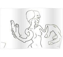 Petits Dessins Debiles - Small Weak Drawings#28 Poster