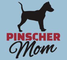 Pinscher Mom Kids Tee