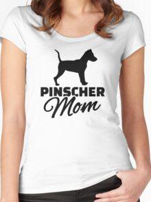 Pinscher Mom Women's Fitted Scoop T-Shirt