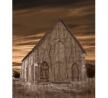 Remote Church Photographic Print