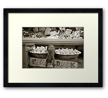 The Circus Part 2 (Duck Season) Framed Print