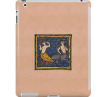 A Siren and a Centaur iPad Case/Skin