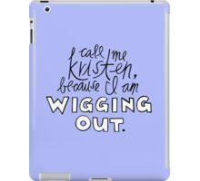 Wigging Out iPad Case/Skin