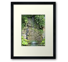Gentle falls Framed Print