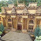 Model Metropolitan Museum of Art, New York Botanical Garden Holiday Train Show, Bronx, New York by lenspiro