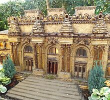 Model Metropolitan Museum of Art, New York Botanical Garden Holiday Train Show, Bronx, New York by lenspiro
