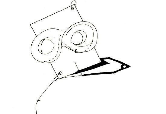 Petits Dessins Debiles - Small Weak Drawings#31 by Pascale Baud